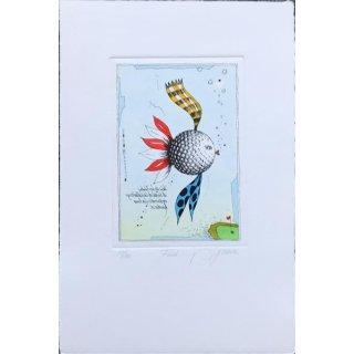 Lithografie - Fisch 22/180