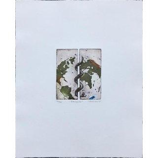 Thomas Möser - Äskulapstab - Lithografie
